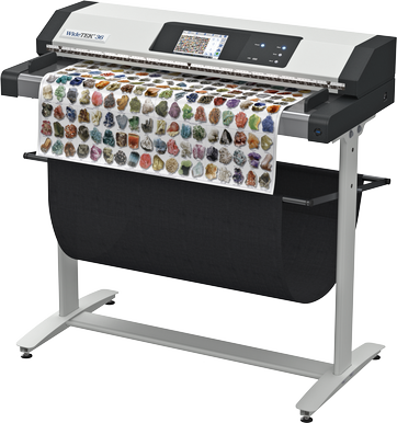 Fastest color scanning 200dpi: 15 inches per second (22.9 m/min)