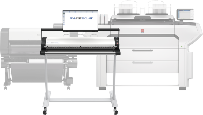 Powerful, high quality MFP system to scan, copy and archive documents with any Canon TDS/LFP Printer.