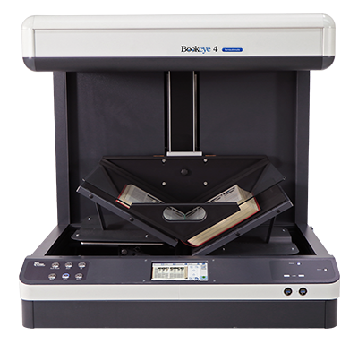 Bookeye® 4 V2 Semiautomatic - Book scanner with V-shaped book cradle